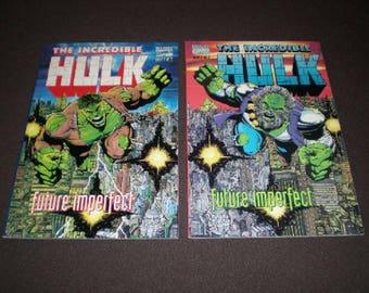 Hulk Future Imperfect 1, 2, 1st printings, 1992-93, 1st App Maestro, Marvel tp