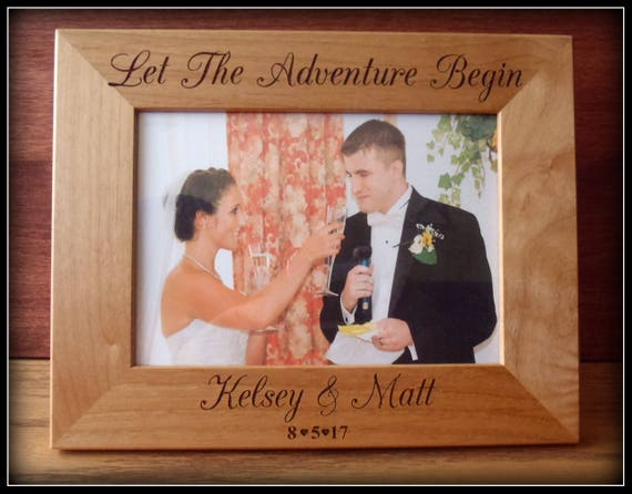 Mr And Mrs Picture Frame Bride And Groom Wedding