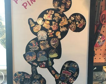 Mickey Mouse inspired pin board