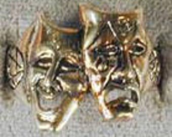Theatre Mask Ring