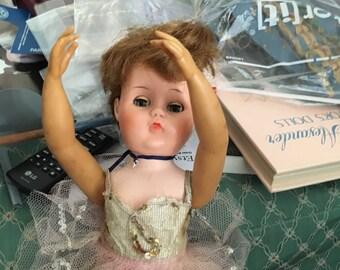 Vintage ballerina doll