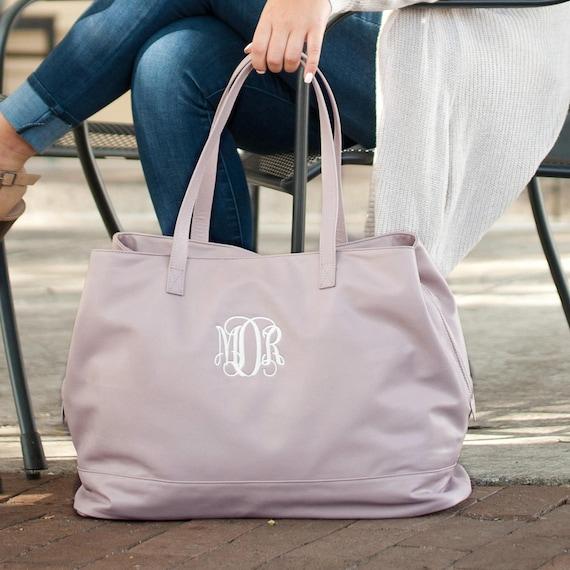 Cambridge Travel Bag, Monogrammed Purse, Leather Purse, Monogrammed Handbag, Personalized Handbag, Travel Bag