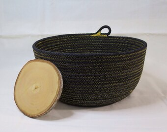 Medium Cotton Cord Basket - Made to order