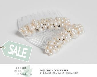 pearl hair comb | pearl headpieces for wedding | wedding comb ivory | wedding hair comb