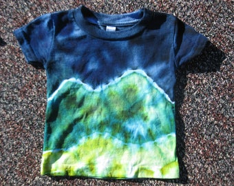 tie dye baby shirt, 6 months, baby top, baby shirt, baby shower