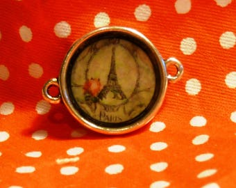 Vintage Eiffel Tower cabochon