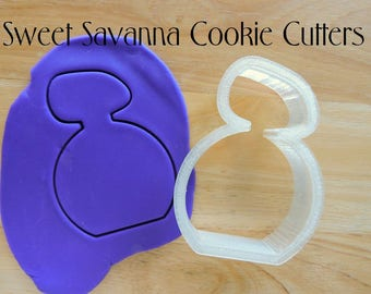 Perfume Bottle Cookie Cutter No.9