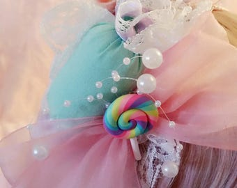 Candy treat headband