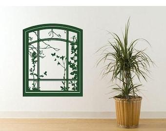 20% OFF Winter Sale Spring Window deco wall decal, sticker, mural, vinyl wall art