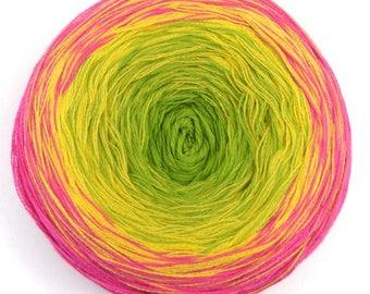 Knit... 1 = 1 shawl/scarf / ball