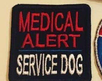 Medical Alert Service Dog -Patch