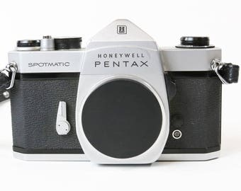 Honeywell Pentax Spotmatic 35mm SLR Film Camera Body Only M42 Mount