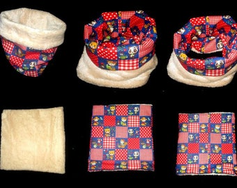 Kids scarf, snood, fleece neck warmer, neck circumference size only 2 to 5 years