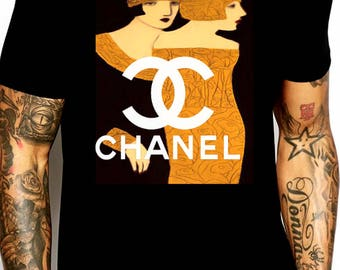 Chanel inspired vintage magazine ad #1 shirt  M or L