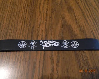 "MIP-"" My Chemical Romance "" Rubber Wristband one size fits most"