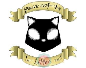 Art Print 'Kitten Me'