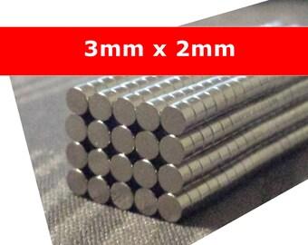 Magnet small 3mm magnet N50 3x2mm powerful neodymium lozenge - loving 3mm