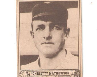 1940 Play Ball Christy Mathewson VG-EX
