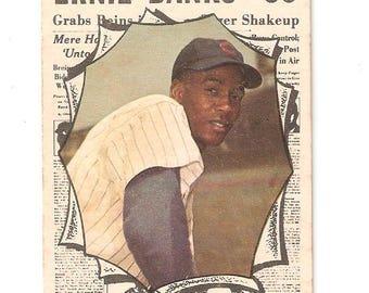 1961 Topps Sporting News Ernie Banks G/VG