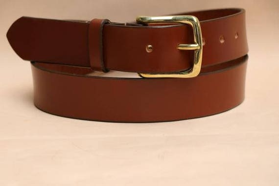 sedgwick premium bridle leather belt in light havanna