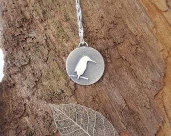 Sterling Silver 'Kingfisher' pendant