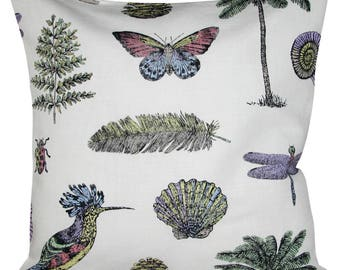 Sanderson Cocos Voyage of Discovery Multi Cushion Cover
