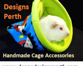 Fleece cage accessories for small pets