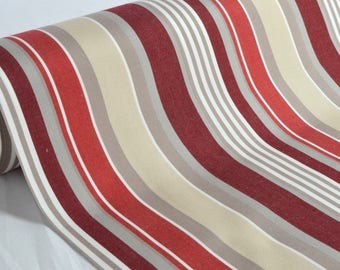 "Exterior fabric 100% Dralon ""Sunny Bordeaux"" sold in multiples of 10cm by 160cm"