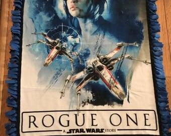 Star Wars Rogue One fleece throw blanket