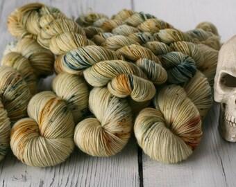 Ready To Ship - Parselmouth - Speckled Yarn - Sock Yarn - Hand Dyed -Yarn - Merino - Nylon - Yarn - Knitting - Ready to Ship