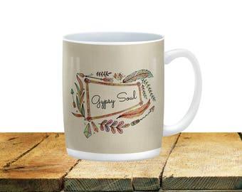 Gypsy Soul  Coffee Mug ,Cup