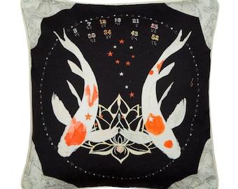 Pisces Zodiac Cushion