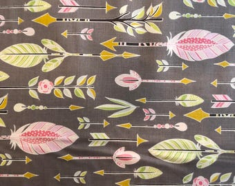 Go Your Own Way in Stone by Michael Miller Fabrics
