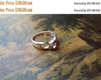 Holiday SALE 85 % OFF Smoky Quartz  Size 7 Ring Gemstone .925 Sterling Silver Tribal Ethnic