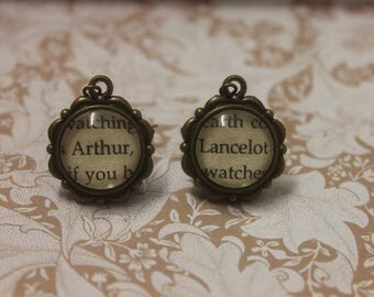 Arthur ~ Lancelot Earrings ~ Knights Of The Round Table ~ Camelot ~ King Arthur ~