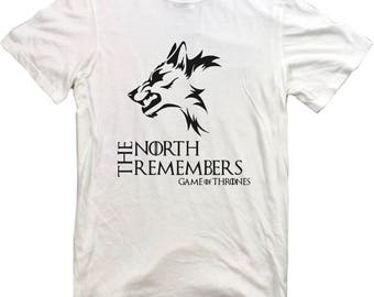 Game Of Thrones T-shirt GOT Tv Show Series Movie Film Tshirt Tyrion Daenerys Jon Snow The North Remembers RARE tee