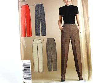 Classic Slant Pocket Pants Pattern, Dress Pants Pattern, Uncut Sewing Pattern, Simplicity 4939, Size 10-22