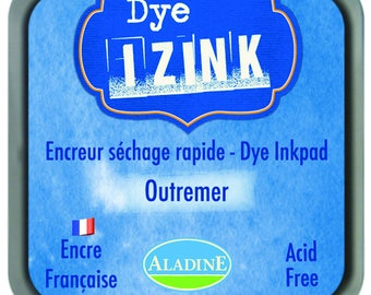 Izink Dye - ink blue Ultramarine quick drying