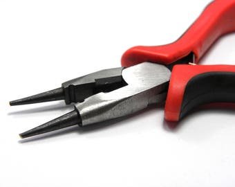 Combination Round Nose Pliers With Wire Cutter Tool for Jewellery-Making and Crafts