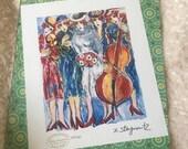 "Zamy Steynovitz ""Five Women Musicians"" Rare"