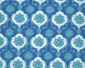 Iznik - Kubachi Persian 100% cotton quilt fabric designed by Snow Leopard Designs Free Spirit