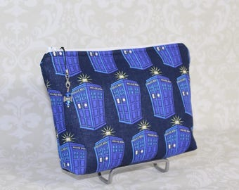 Tardis Zippered Bag