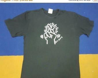 MEGA SALE 25% Vintage K. Haring shirt popart