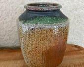 Soda-fired Pottery Vase