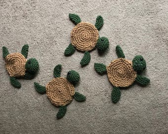 Turtle Drink Coasters