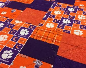 Clemson Tigers Quilt!!