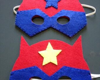 Superhero hero mask