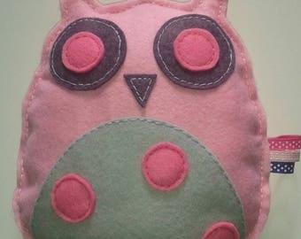 "Hanging music box model ""OWL"""