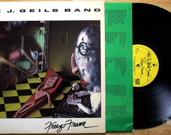 J. Geils Band - Freeze Frame (1981) Vinyl LP; Centerfold