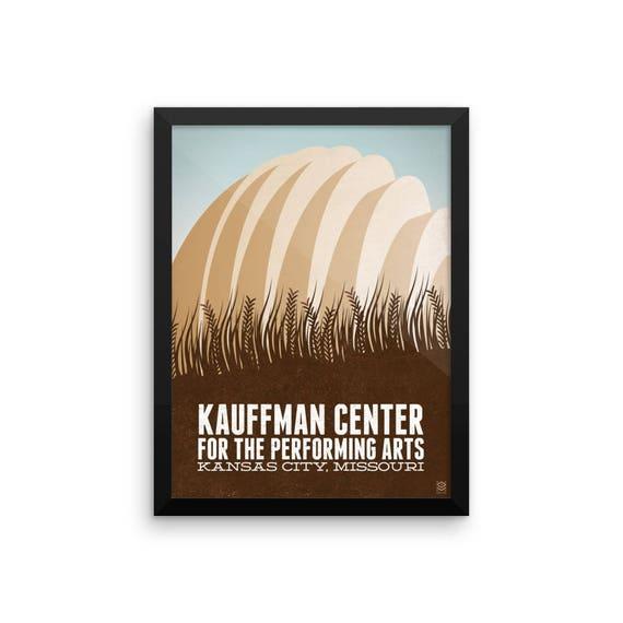 Kauffman Center Framed Print